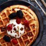 Yogurt Waffles | Melanie Makes
