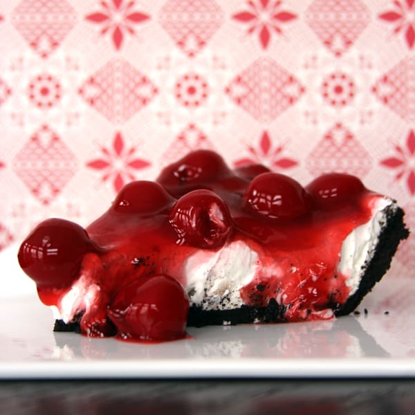 Faux Cherry Cheesecake | Melanie Makes melaniemakes.com