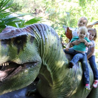 Cleveland MetroParks Zoo Dinosaurs Exhibit | Melanie Makes