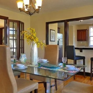 Where We Live Wednesday - Dining Room | @melaniebauer at Melanie Makes