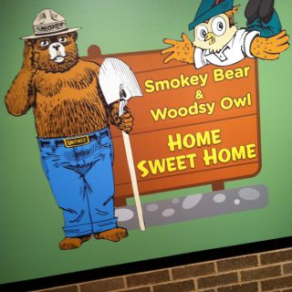 Cleveland Museum of Natural History - Smokey Bear and Woodsy Owl Exhibit | @melaniebauer at Melanie Makes