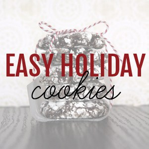Easy Holiday Cookies | @melaniebauer at Melanie Makes