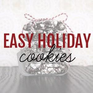 Easy Holiday Cookies | @melaniebauer at Melanie Makes