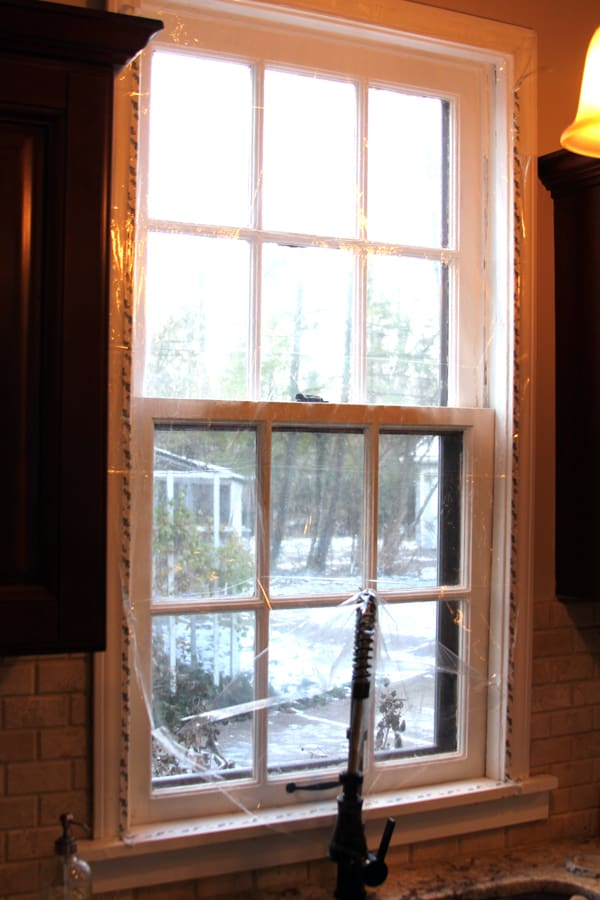 Weatherizing a 100 Year Old House | @melaniebauer at Melanie Makes