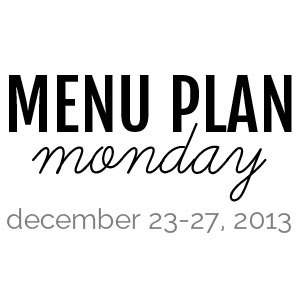 Menu Plan Monday : December 16-20, 2013 | @melaniebauer at Melanie Makes