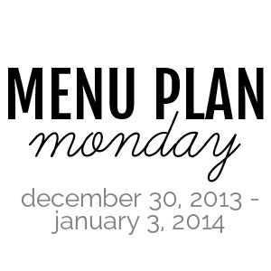 Menu Plan Monday : December 16-30, 2013 | Melanie Makes melaniemakes.com
