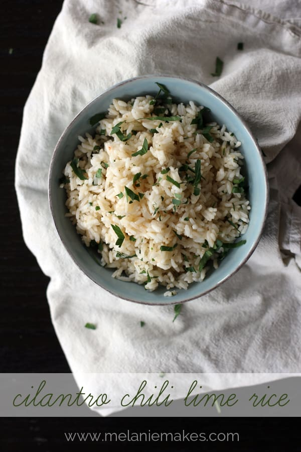Cilantro Lime Rice | Melanie Makes melaniemakes.com