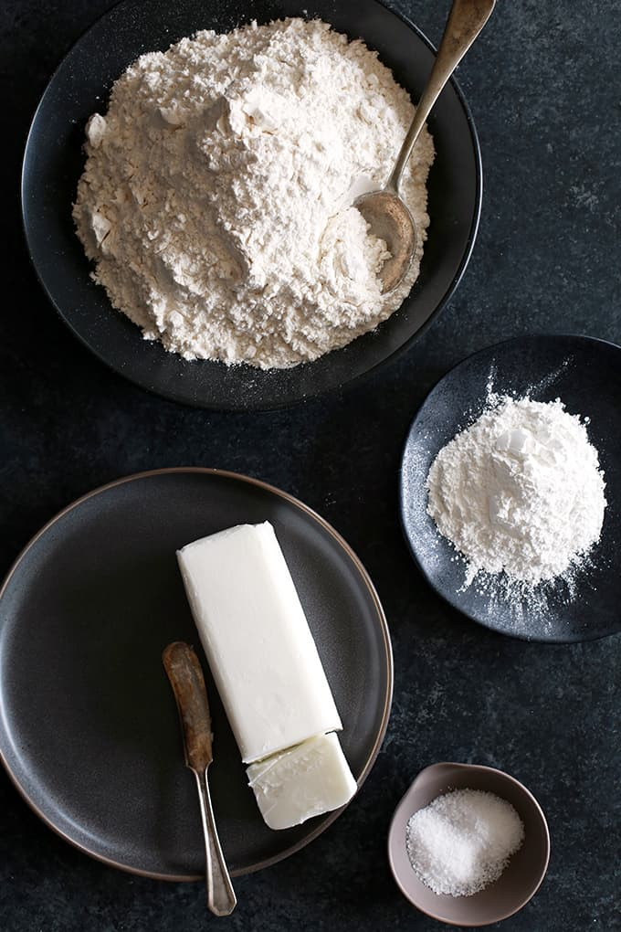 This four ingredient Homemade Baking Mix comes together in just minutes. The perfect base for