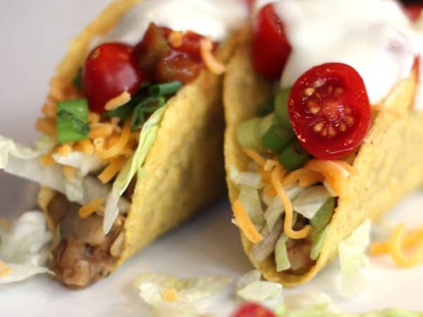 Slow Cooker Lentil and Brown Rice Tacos | Melanie Makes melaniemakes.com