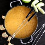 Beer Cheese Fondue | Melanie Makes