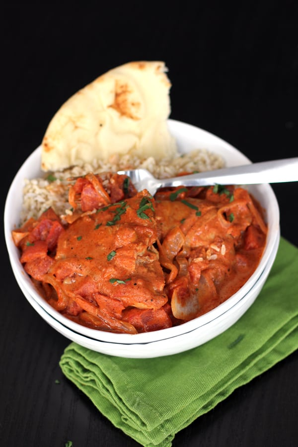 easy Indian Butter Chicken recipe featuring Star Butter Flavored Olive ...