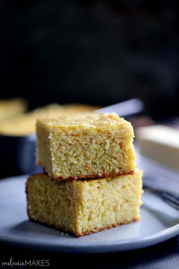 Eight ingredients, a bowl and a wooden spoon. That's all there is to this Simple Sweet Cornbread. The perfect side dish for your favorite comforting soup, chili or stew.