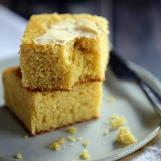 Simple Sweet Cornbread | Melanie Makes