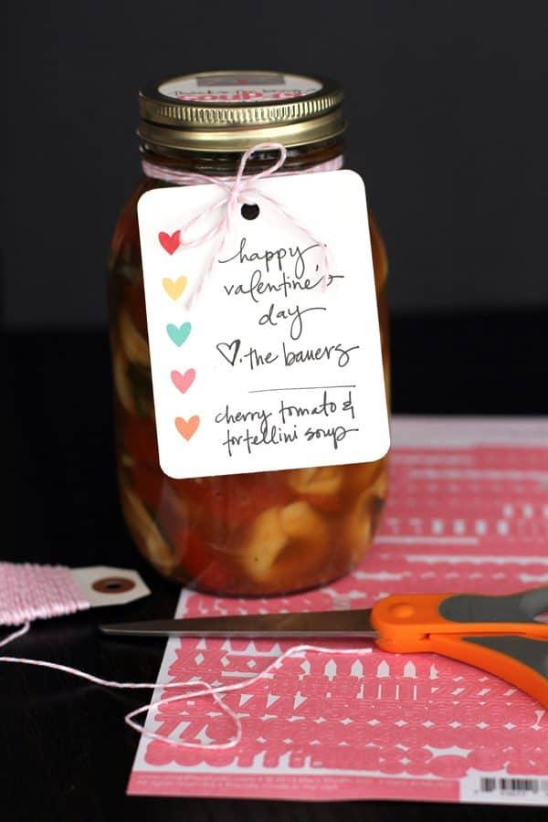 soup-er neighbor valentine