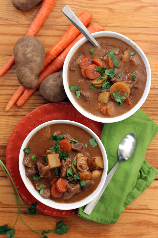 Stout Beer Beef Stew | Melanie Makes melaniemakes.com