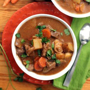 Stout Beer Beef Stew | Melanie Makes melaniemakes.com