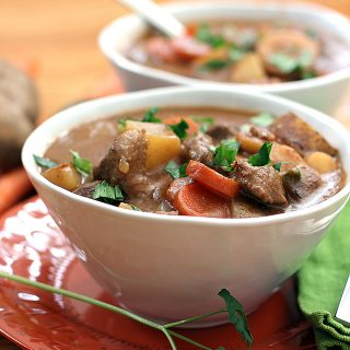 Stout Beer Beef Stew | Melanie Makes
