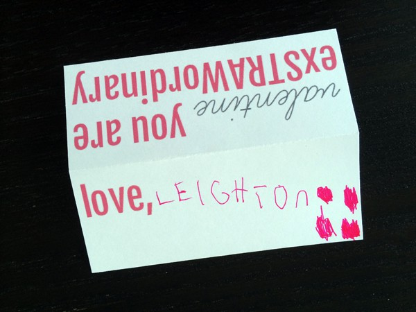 Valentine You Are ExSTRAWordinary | Melanie Makes melaniemakes.com