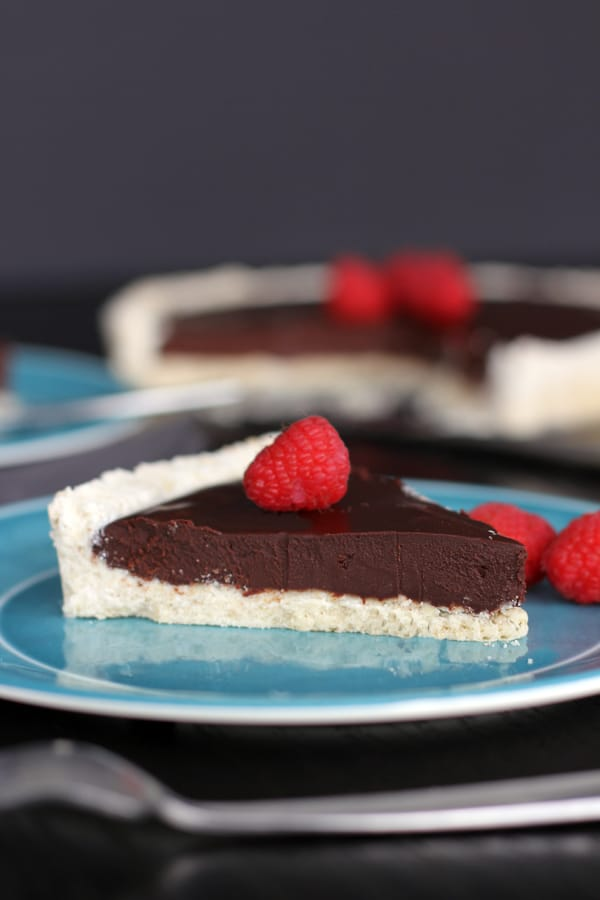 Chocolate Ganache Tart | Melanie Makes melaniemakes.com