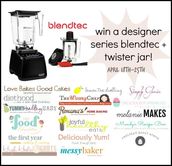 Designer Series Blendtec and Twister Jar Giveaway