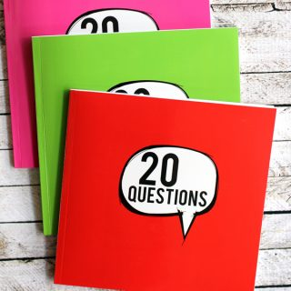 Review: 20 Questions Birthday Interview Book for Kids | Melanie Makes melaniemakes.com
