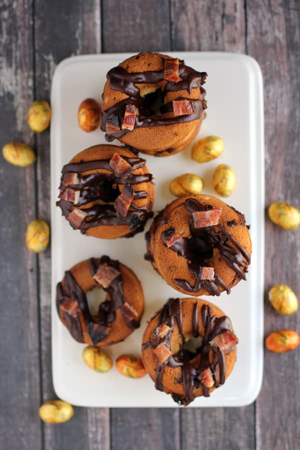 Butterfinger Nest Eggs and Bacon Donuts | Melanie Makes