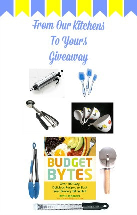 From Our Kitchens to Yours Giveaway