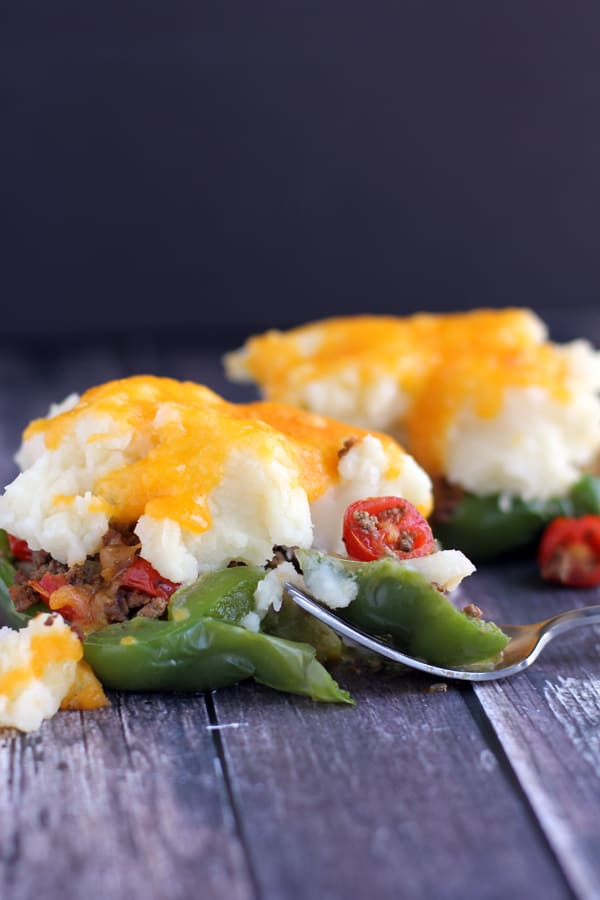 Skillet Stuffed Peppers | Melanie Makes melaniemakes.com