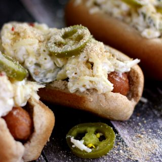 Jalapeno Popper Mac and Cheese Brats | Melanie Makes