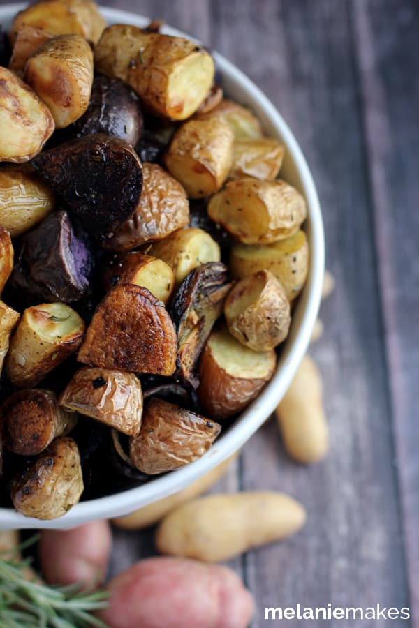 This Roasted Balsamic Rosemary Potato Salad says sayonara to ...