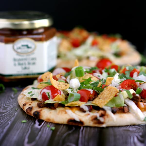 Taco Frito Flatbread Pizza