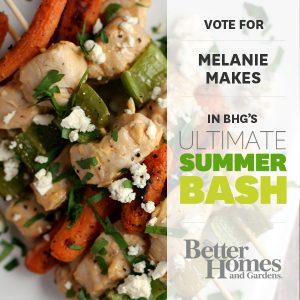 BHG Summer Bash – Buffalo Bleu Cheese Chicken Skewers