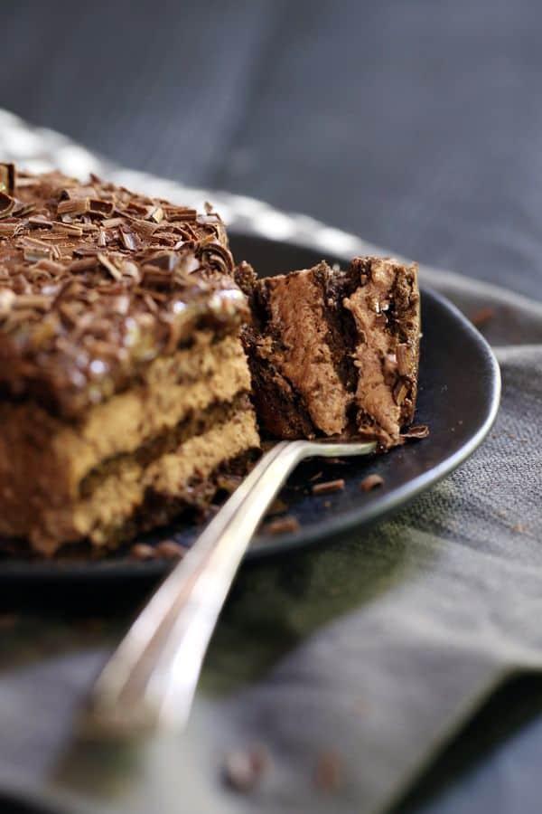 Double Chocolate Eclair Cake - Melanie Makes