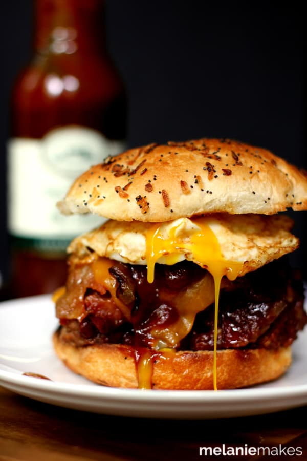 14 Manly Father's Day Recipes - Grilled Barbecue Bacon Meatloaf Sandwich