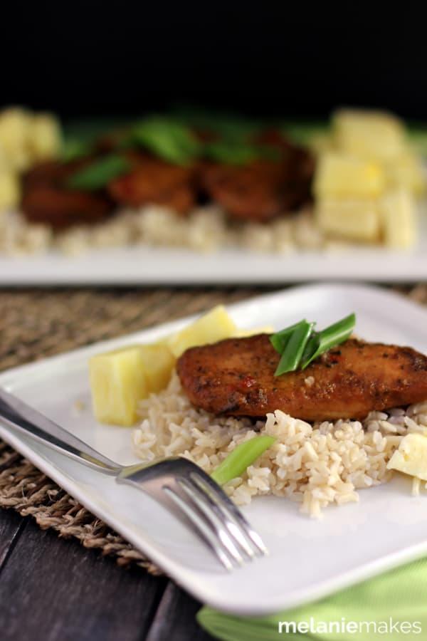 Slow Cooker Huli Huli Chicken   Melanie Makes