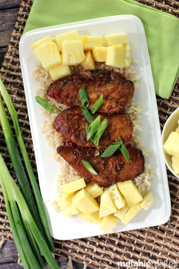 Slow Cooker Huli Huli Chicken | Melanie Makes
