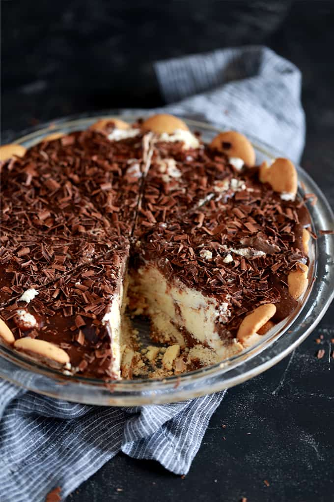 Hot Fudge Ice Cream Pie   Melanie Makes