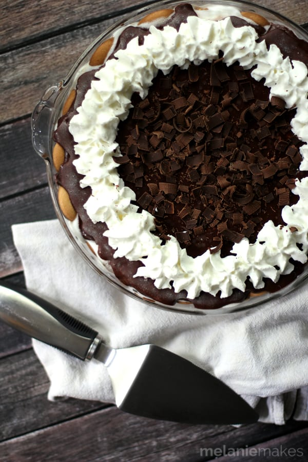 Hot Fudge Ice Cream Pie | Melanie Makes