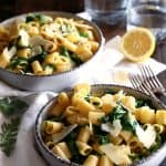 Lemon Arugula Pasta | Melanie Makes