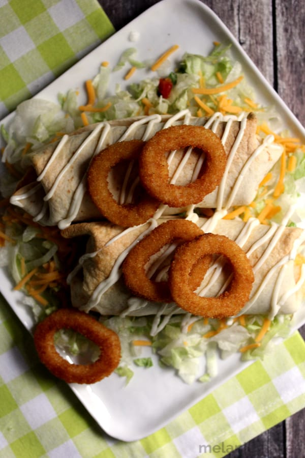 how to make beef chimichangas