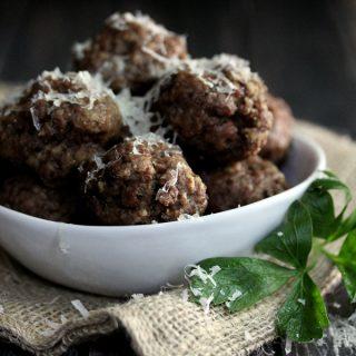 Easy Baked Meatballs | Melanie Makes