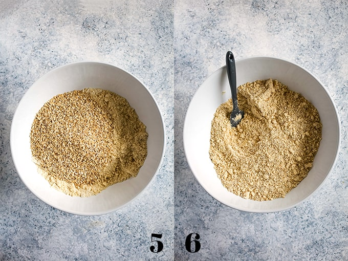 How to prepare Homemade Oatmeal Muffin Mix, steps 5-6.