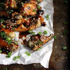 Slow Cooker Sriracha Teriyaki Wings