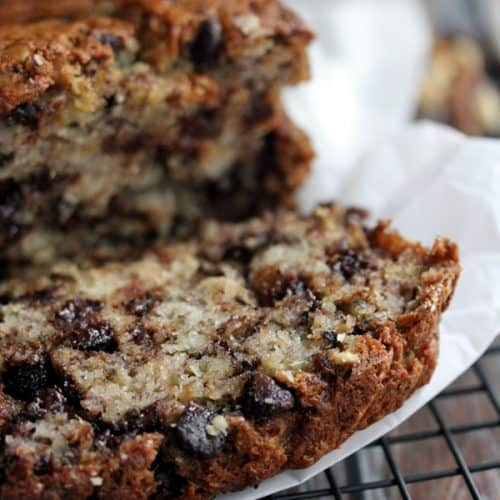 Chocolate chip walnut banana bread melanie makes forumfinder Image collections