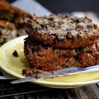 Chocolate Chip Walnut Banana Bread | Melanie Makes