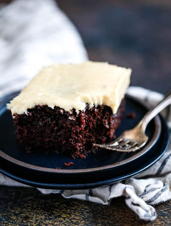 Eggless Milkless Chocolate Cake