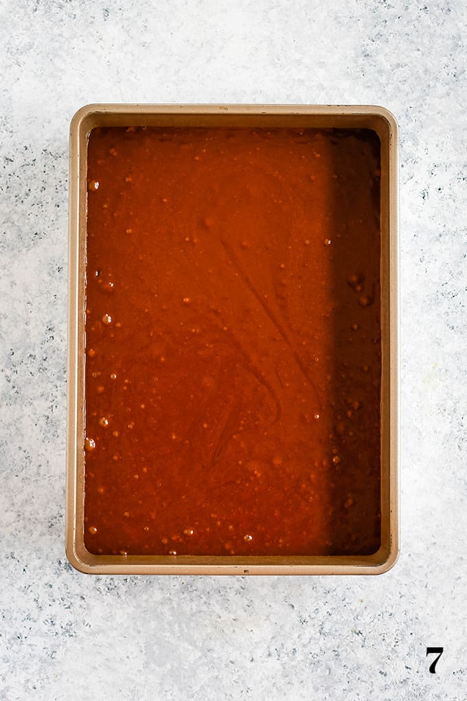 How to prepare Eggless Milkless Chocolate Cake, step 7.