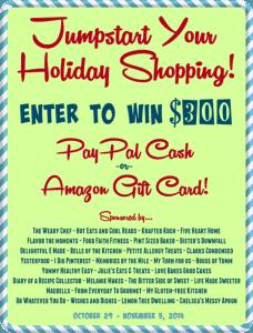 $300 Jumpstart Holiday Cash Giveaway | Melanie Makes