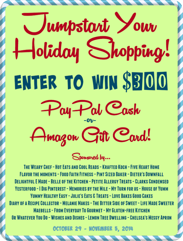 $300 Jumpstart Holiday Cash Giveaway