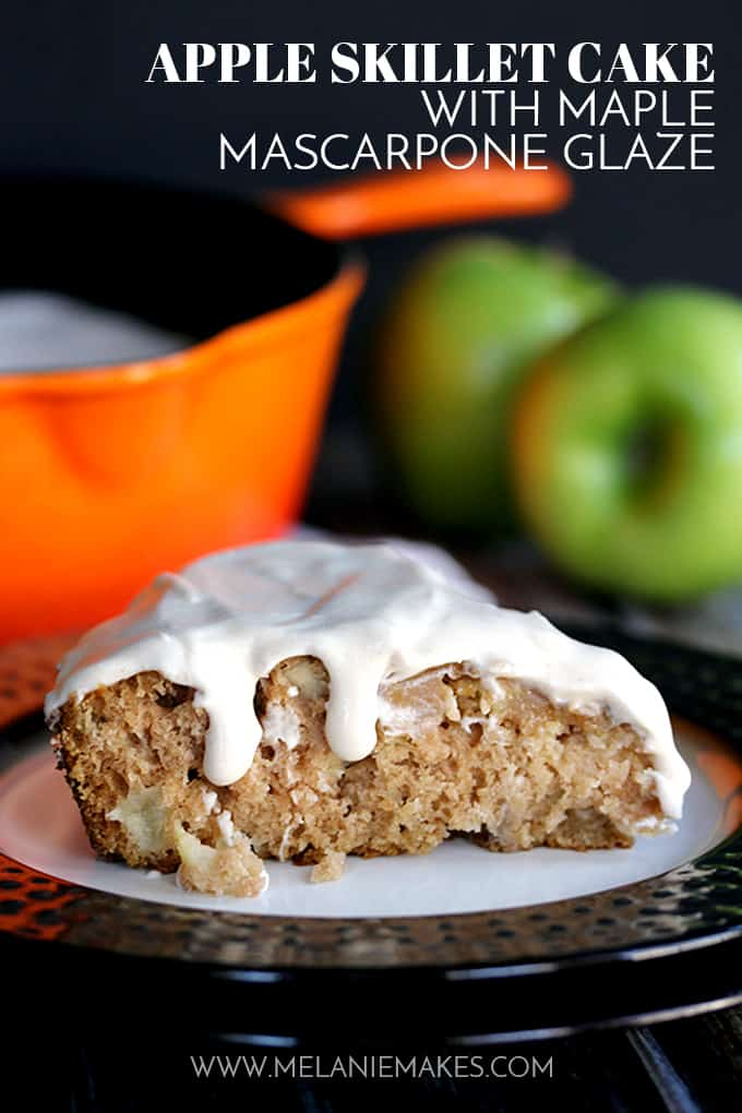 Apple Skillet Cake | Melanie Makes